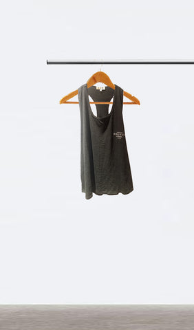 Ellipsis - Switch Ladies Charcoal Racerback Vest