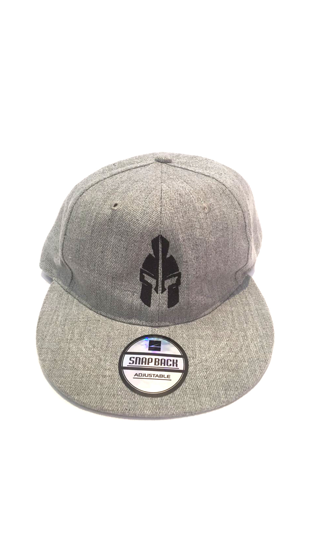 Ellipsis - Warriors Grey Flat Cap