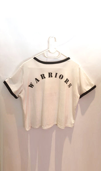 Ellipsis - Warriors Girls' Ringer Tee