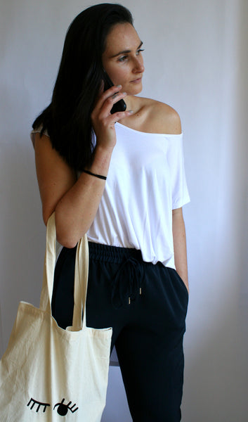 Ellipsis - The White Oversized Tee