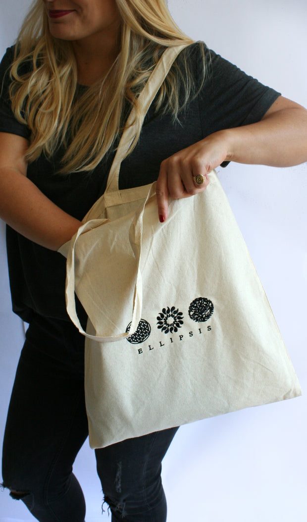 Ellipsis - The Canvas Ellipsis Tote Bag