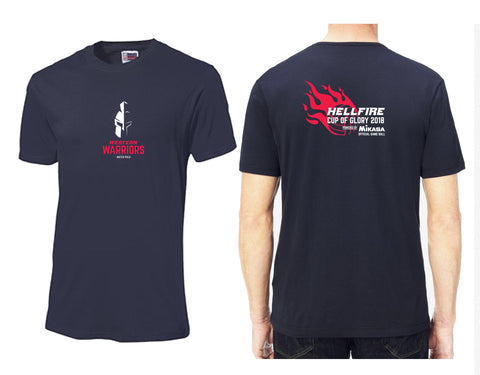 Ellipsis - Warriors Hellfire Cup Tee