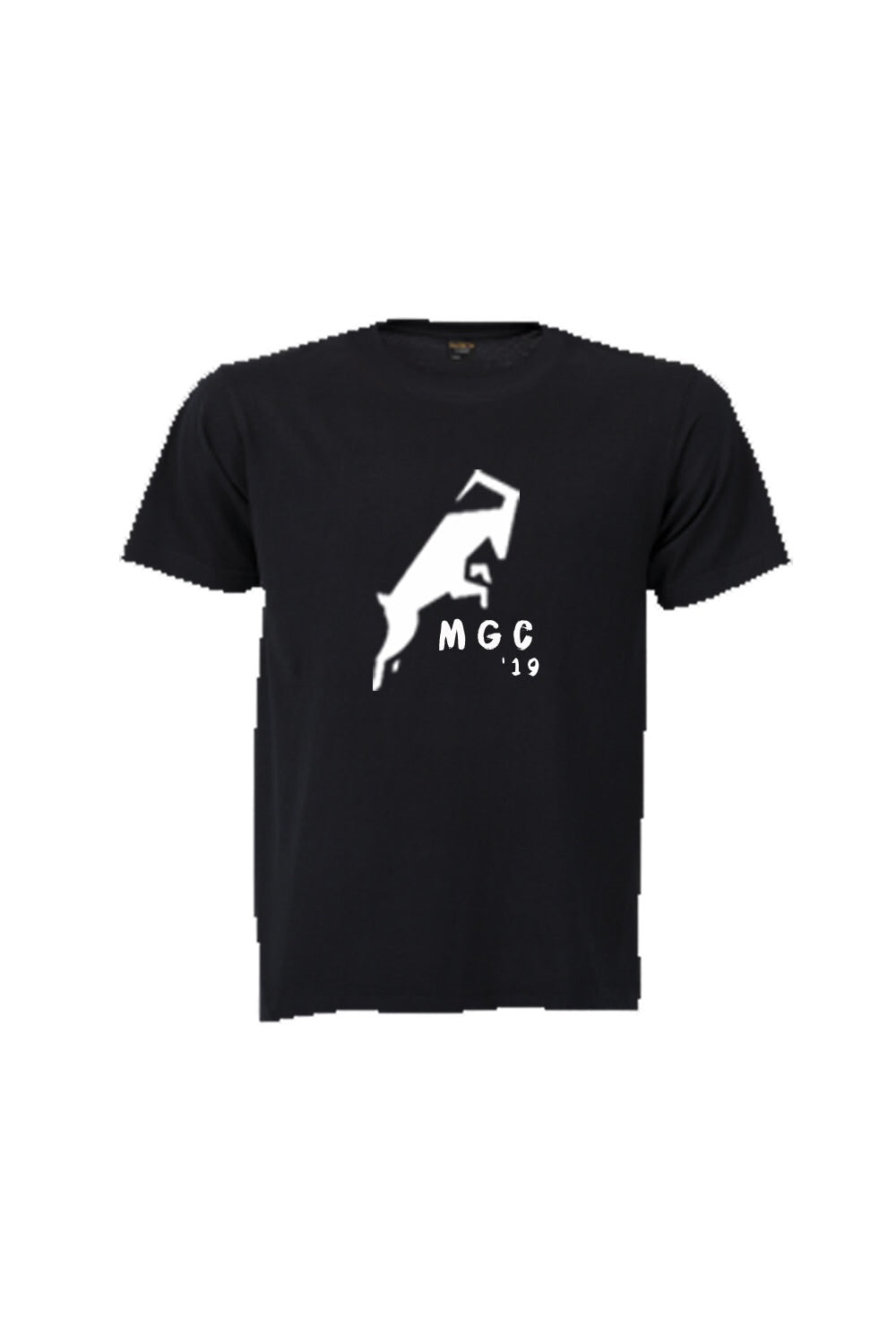 Ellipsis - Mountain Goat Black Tee