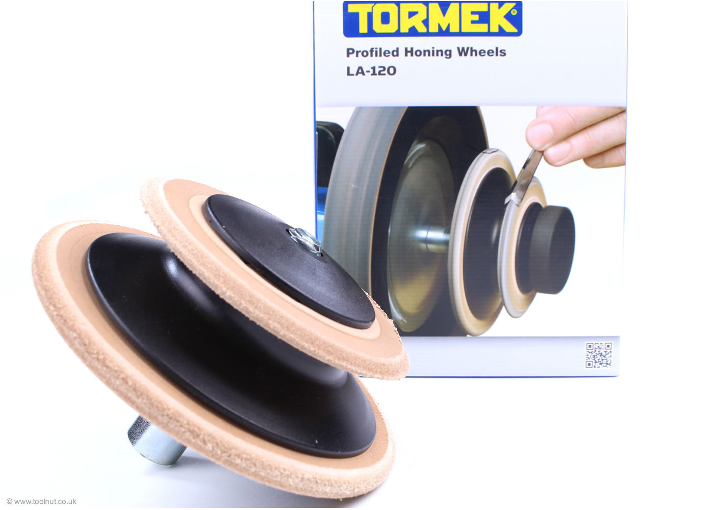 Tormek Profiled Leather Honing Wheel - LA-120