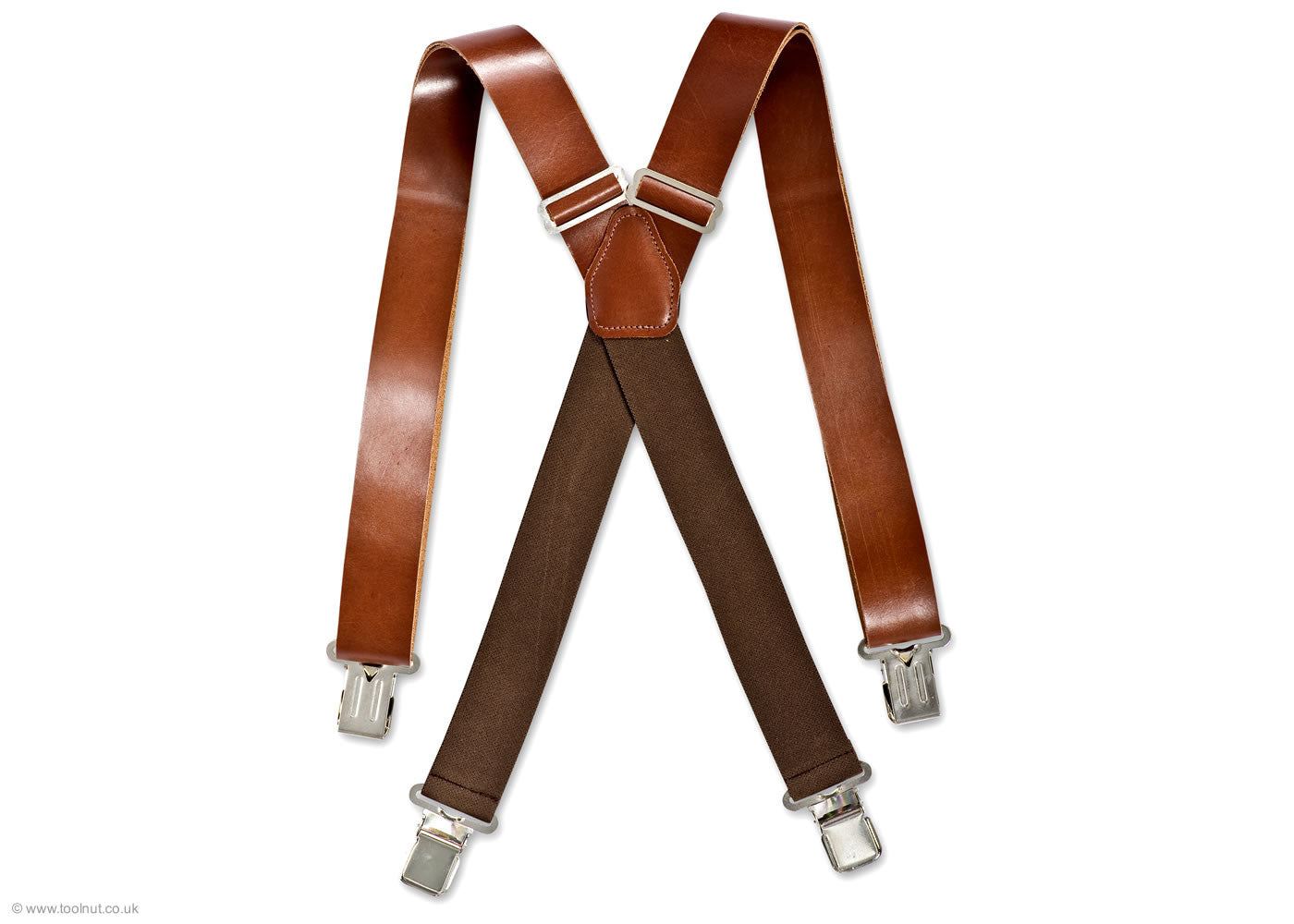 leather trouser braces