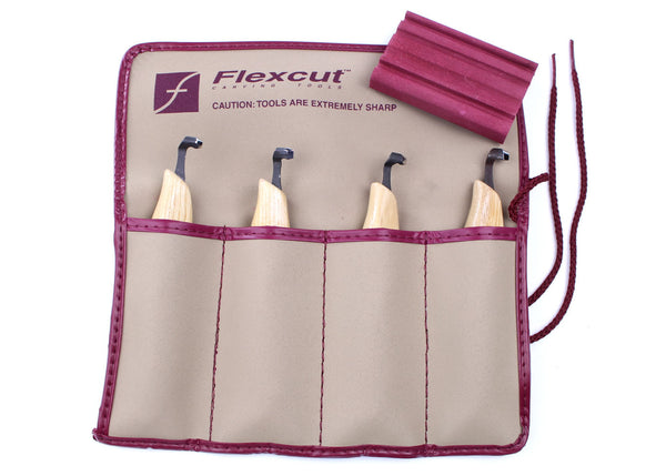 Flexcut Scorp Carving Set - 4 Piece