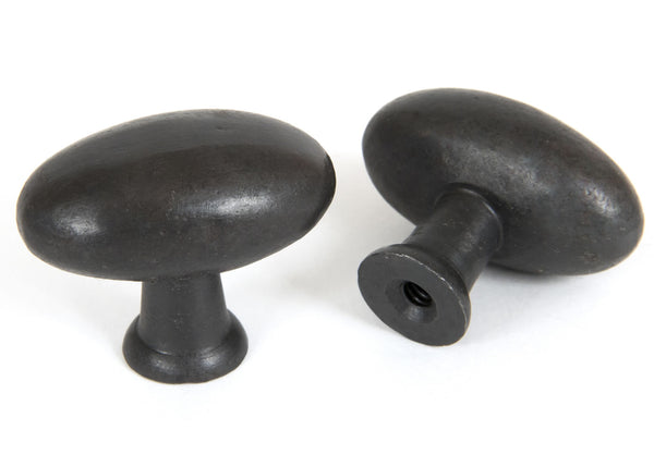 Anvil - Beeswax Oval Cabinet Knob