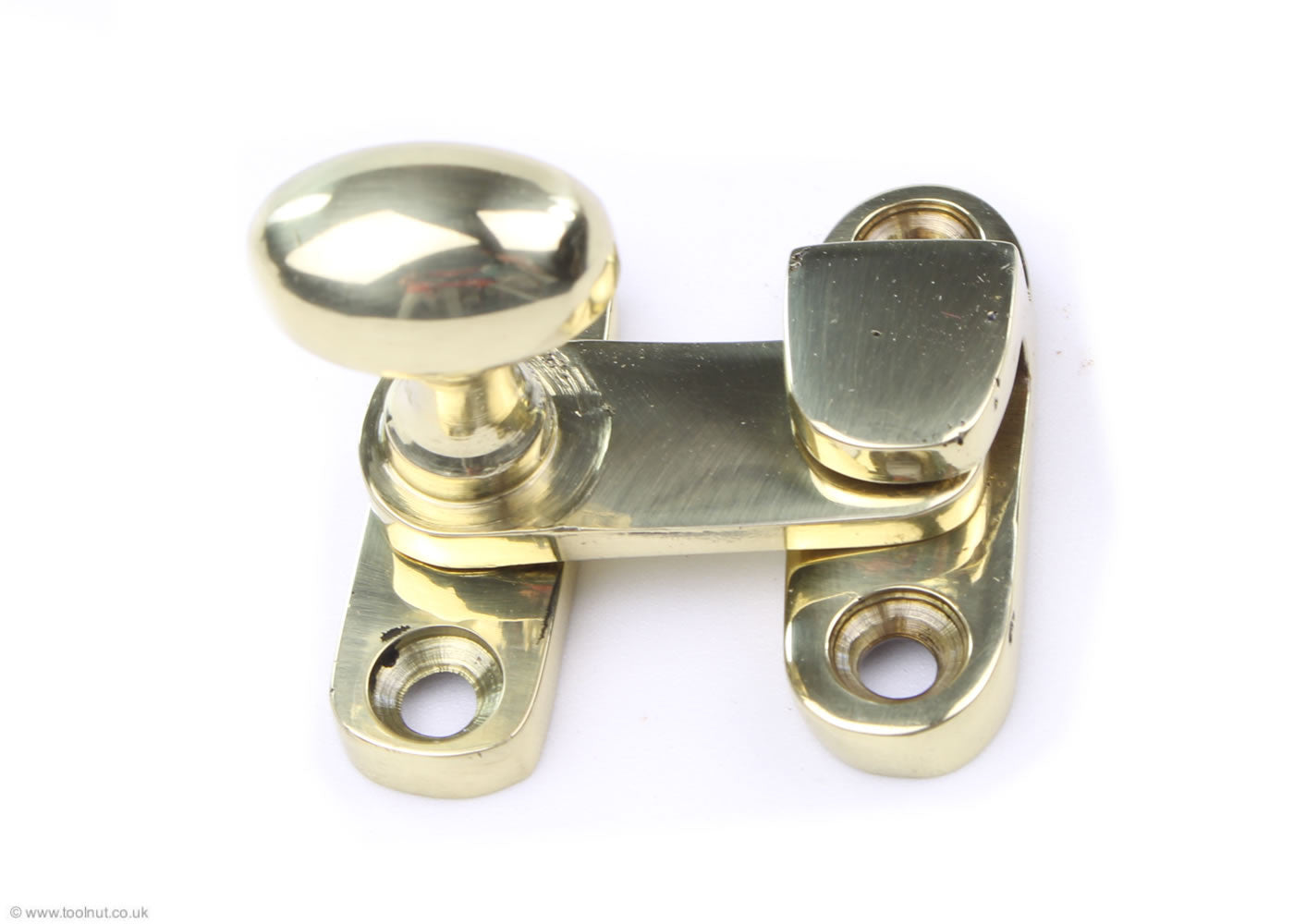 Cabinet Catch Fastener - Polished Brass