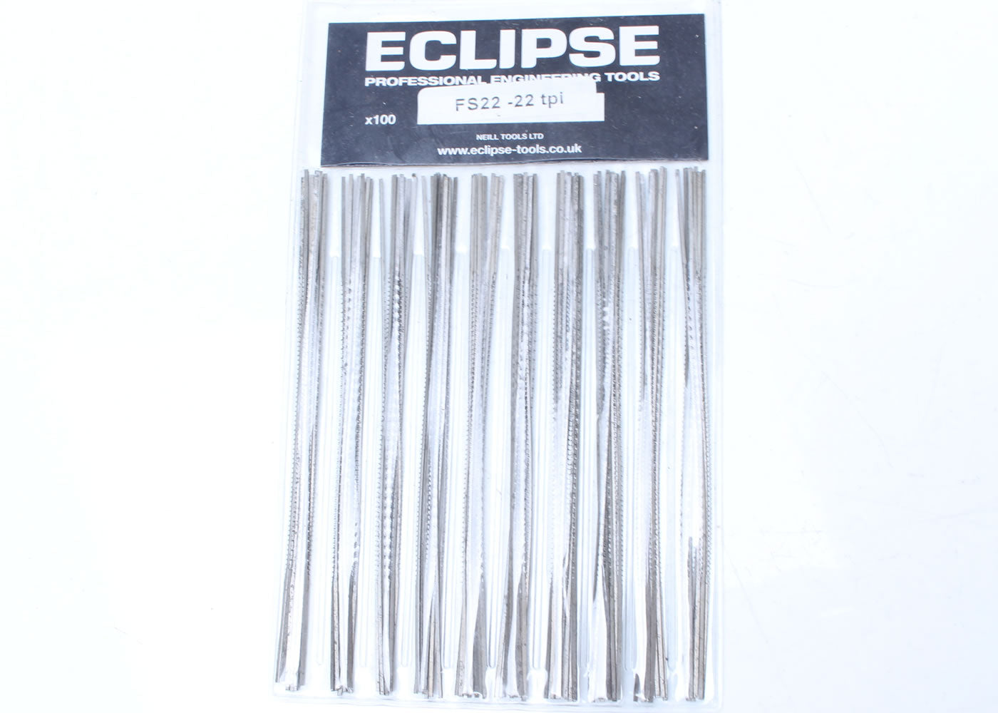 Eclipse Fret Saw Blades - (Quantity 100)