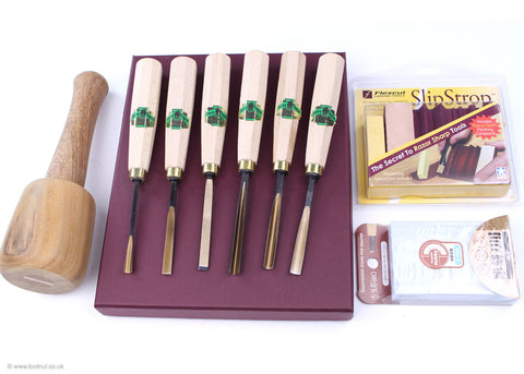 starter wood carving tool set