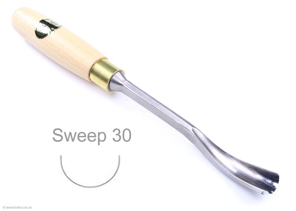 ashley iles spoon carving tool sweep 30
