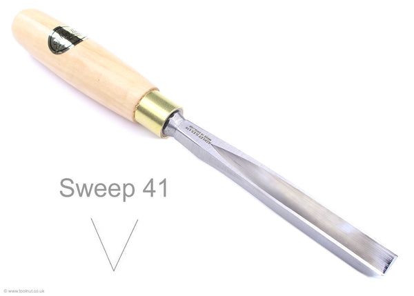 ashley iles V carving tool sweep 41