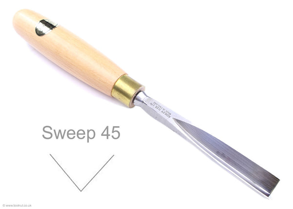 ashley iles V carving tool sweep 45