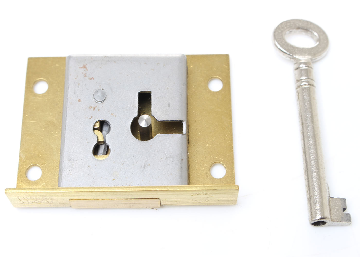 A & E Squire Brass Till / Drawer Lock