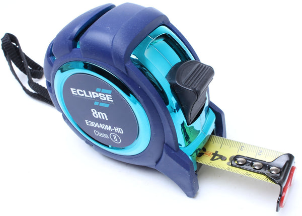 Eclipse Heavy Duty Tape Measure - 8m - Metric