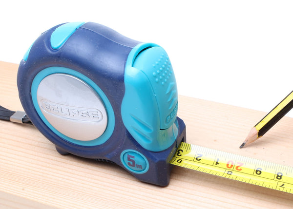 Eclipse Tape Measure - 5m - Metric and Imperial