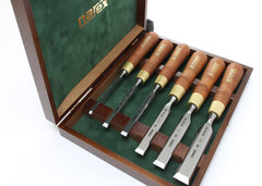 Narex Polished Bevel Edge Firmer Chisel Set - 6 Piece