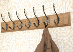 Anvil Natural Smooth Acorn Coat Hook - 2 1/2