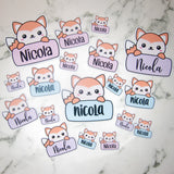 Custom Felix Name Die Cuts - Chose your name, colour and font!! - Comes with 6 die cuts in a range of sizes!