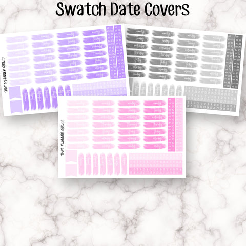 Date Cover Swatches - 3 colour options