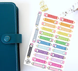 Glitter Pencils - Cute and perfect for study. school or uni - for your Erin Condren EC / kikki K / PPP planner - Super cute pastel