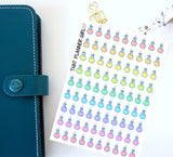 Science /  Icons - Cute and perfect for marking lessons / study / uni / tafe/ design / assignments - Erin Condren EC / kikki K etc