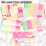 Pink Lemon Citrus - VERTICAL weekly kit
