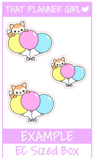 Felix Birthday Balloon Stickers