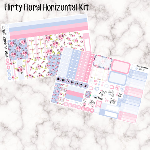 Flirty Florals - HORIZONTAL kit