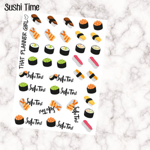 SUSHI TIME Stickers