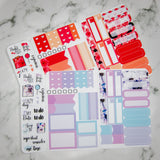 Speckled Marble - TN Sticker Inserts - Mini Stickers for use in Traveler's Notebook - Fits in passport/no.1 or larger - Functional