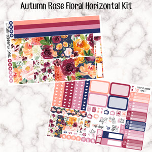 Autumn Rose/Fall Floral Kit - HORIZONTAL kit
