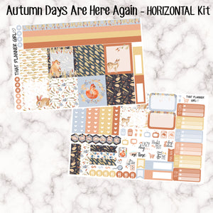 Autumn Days Are Here Again - HORIZONTAL EC kit