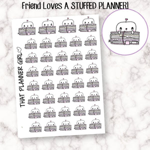 Friend and STUFFED Planner