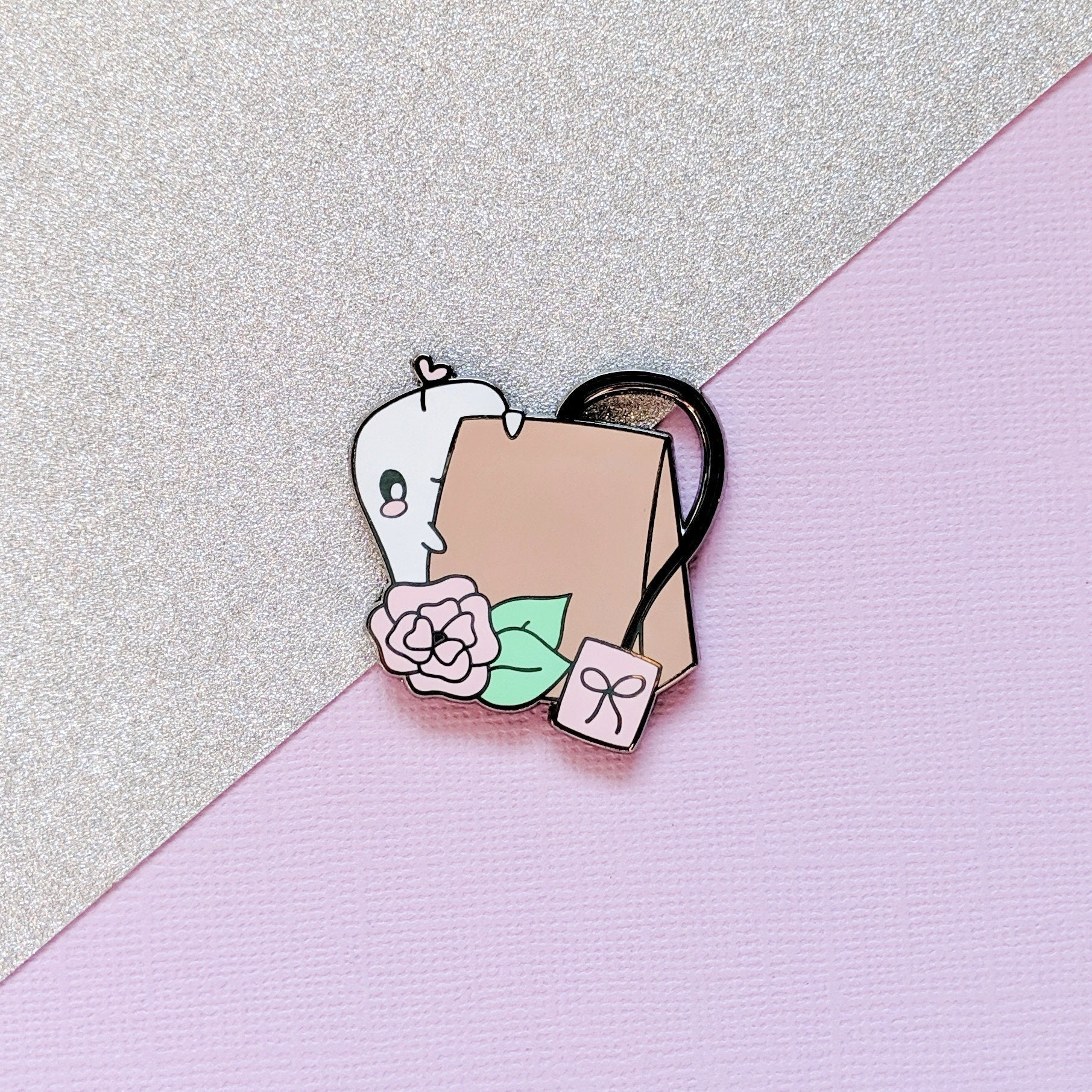 Friend Loves Tea Hard Enamel Pin