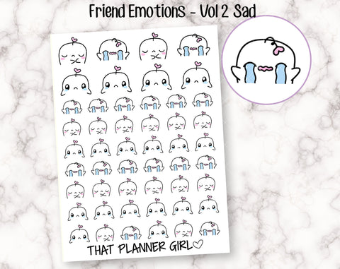 Friend Emotions - VOL 2