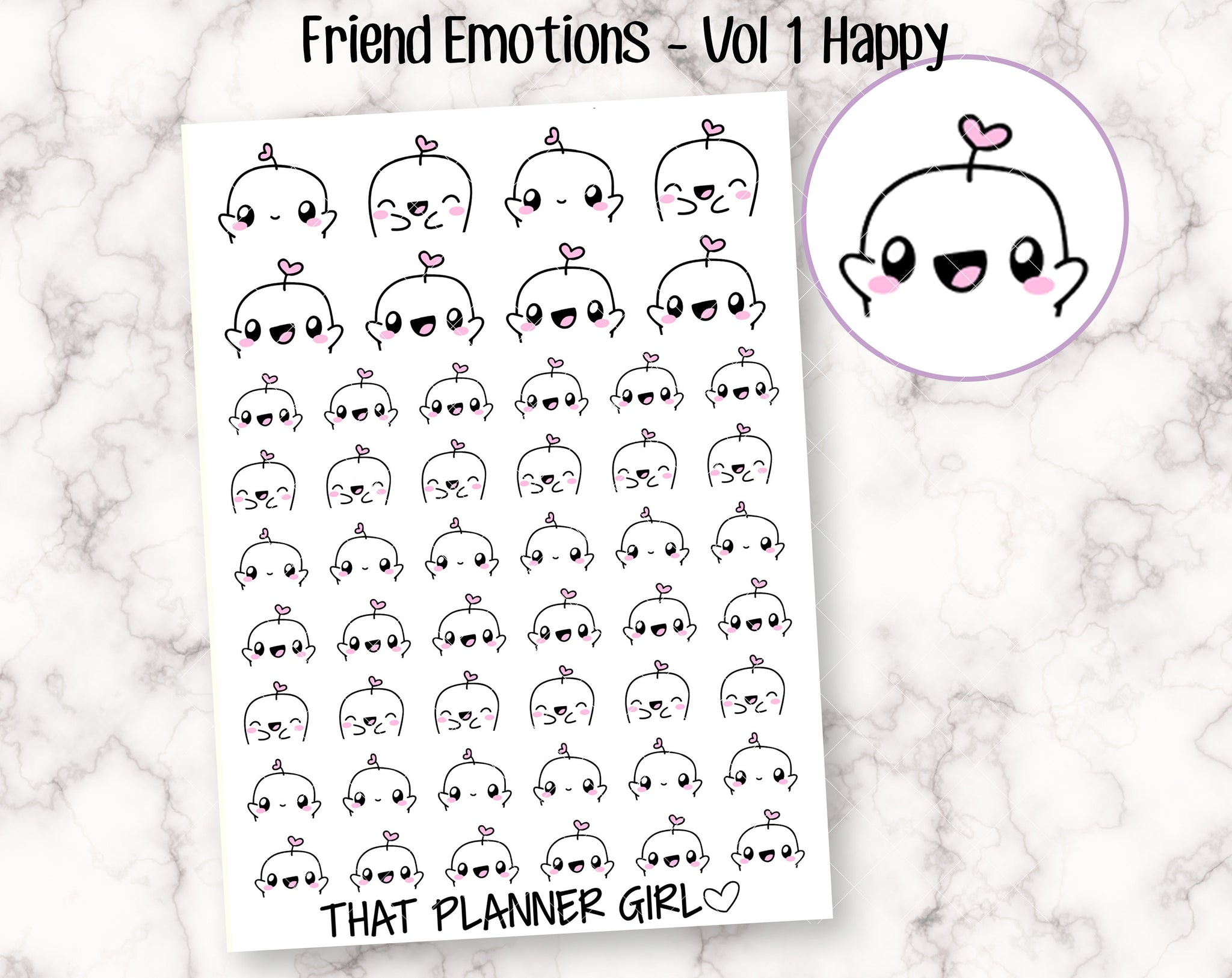 Friend Emotions - VOL 1