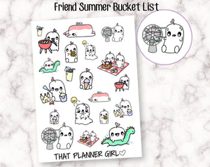 Friend and Summer Bucket List