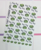 Kawaii Pay Day / Money Icons - Kikki K or Erin Condren Vertical or Horizontal Planner Stickers