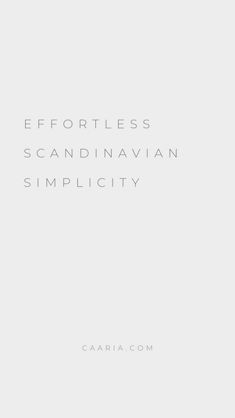The effortless Scandinavian