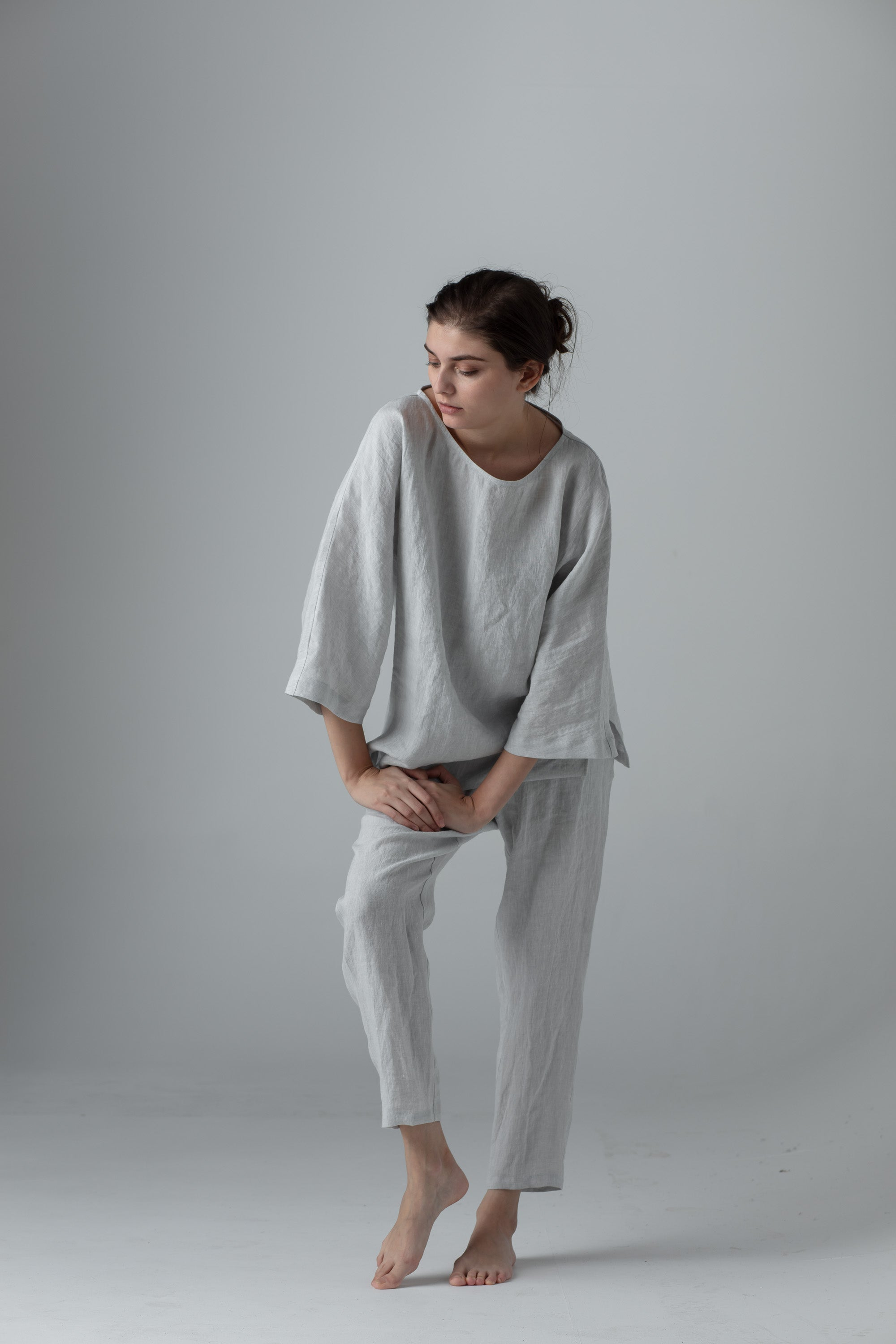 Sustainable European made linen clothing