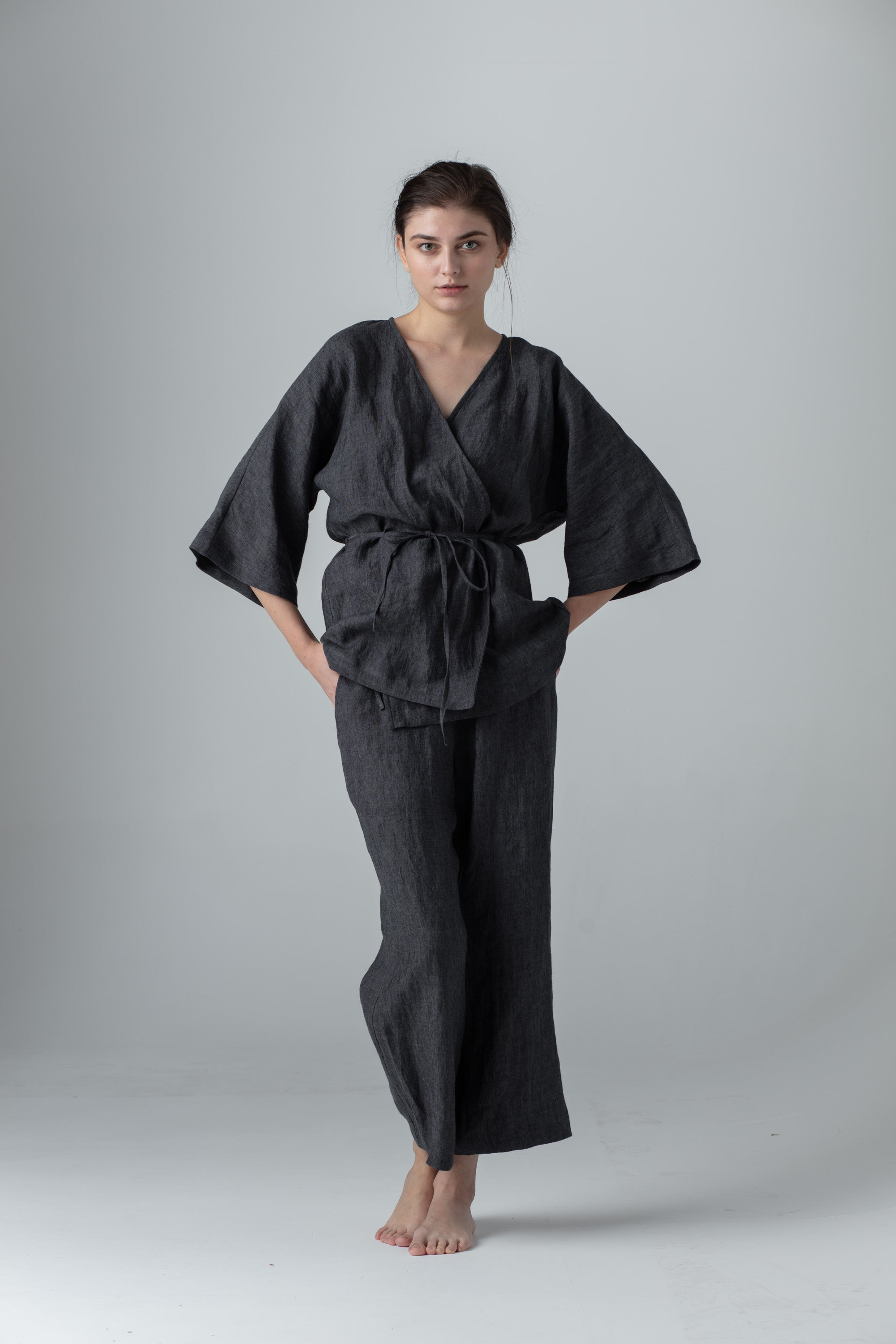 Loungewear of European linen