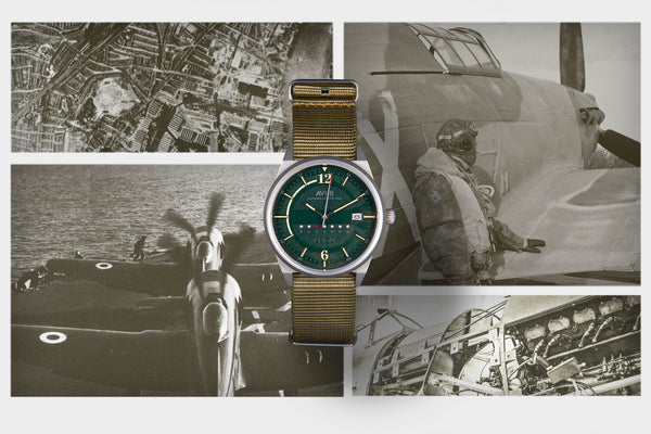 AVI-8 Hawker Hurricane Men's Watch - AV-4044-05