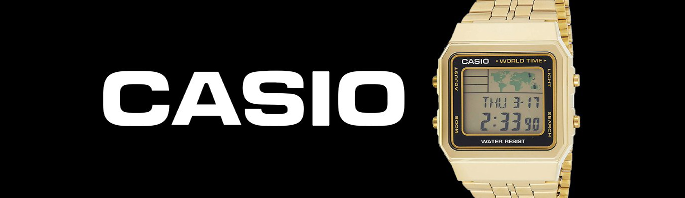 Casio Collection Banner