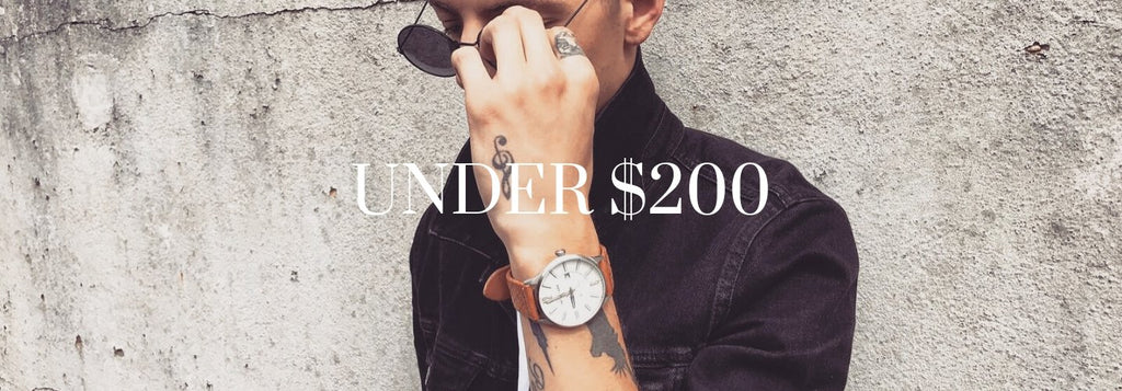 Men's Watches Under $200