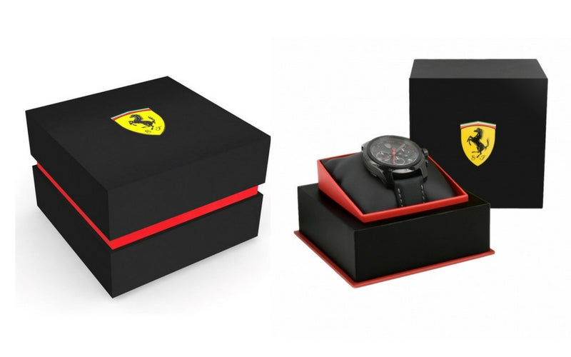 Scuderia Ferrari Watch Box - The Watch Factory Australia