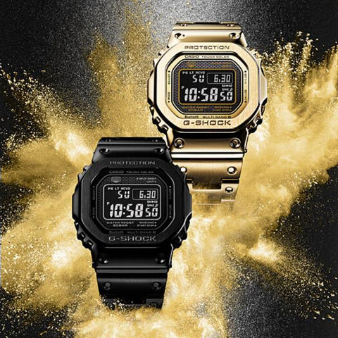 G-Shock Limited Edition All-Metal Series - The Watch Factory
