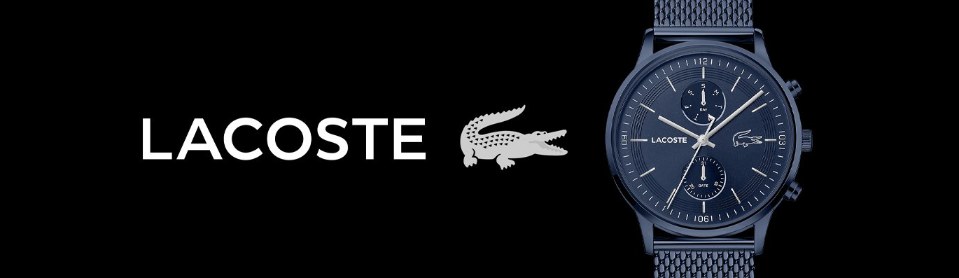 Lacoste Collection Banner