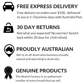 The Watch Factory Australia | Free Express Shipping | 30 Day