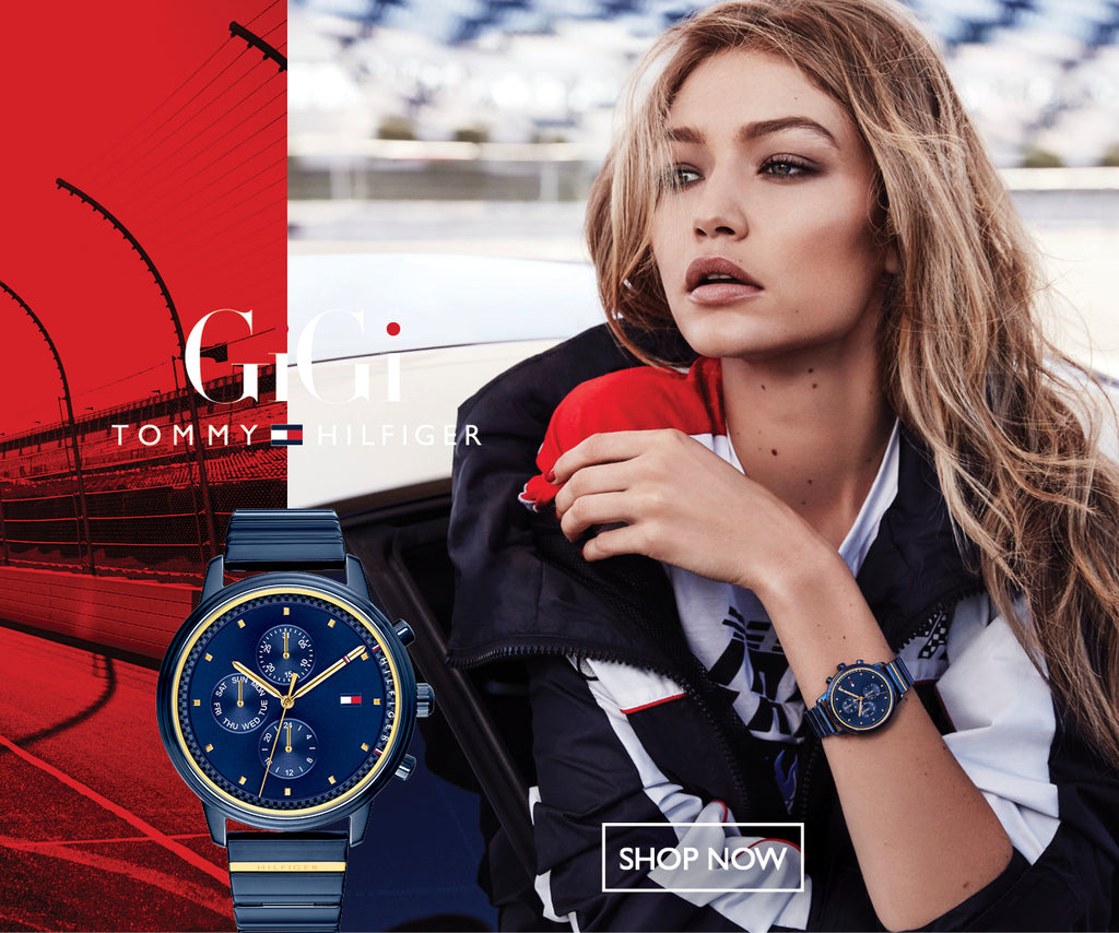 Gigi Hadid by Tommy Hilfiger at The Watch Factory Australia